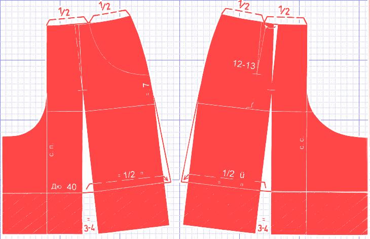 Как сшить шорты юбку своими руками видео