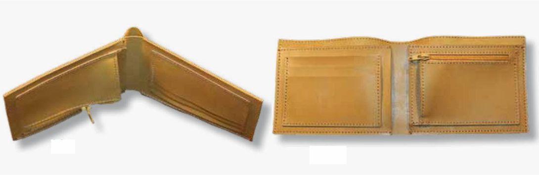 Как сшить кошелёк из кожи своими руками мастер класс